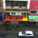Street view of 100-block East Pender Street